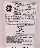 GE Dehumidifier,Mod:ADEL50LR12