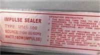 Compact Impulse Sealer