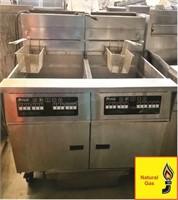 PITCO 2 Bank Fryer w/Filtration
