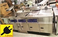 PITCO FRIALATOR 3 Bank Elec. Fryer