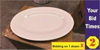 "Dozen-11"" Oval Platters-NEW"