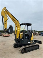 New Holland E37C Mini Excavator