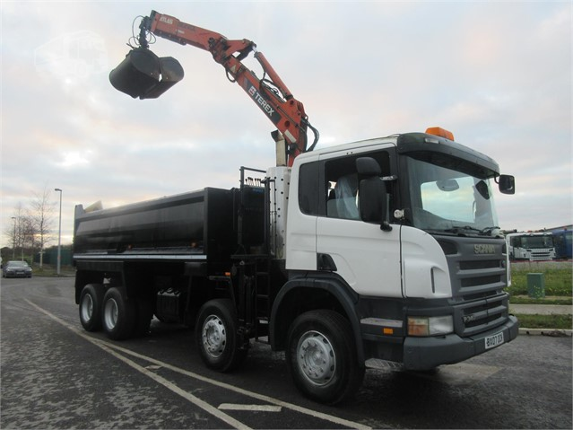 2007 SCANIA P340 at www.firstchoicecommercials.ie