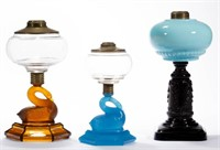 Selection of early kerosene period lighting