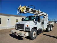 2006 Chevrolet C8500 Single Cab Digger Derrick Pol