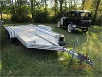Model A Ford, Tractors, Trailer, Furniture, Household Goods