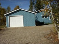 TIMED/ONLINE ONLY CABIN/HOUSE & 3 LOTS AUCTION