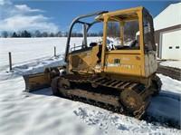 John Deere 450H Dozer Online Auction