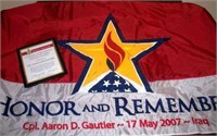 Honor and Remember Banquet Auction Extended