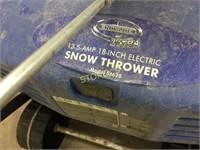 "18"" Elecric Snow Thrower"