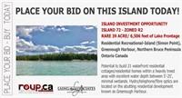 Island 72 - Rare 39 Acre Island