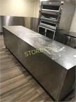 HD S/S Work Table - 117 x 32 x 30