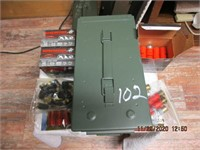 AMM0 BOX WITH 12gauge AMMO