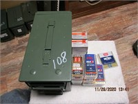 AMMO BOX 22 MAG
