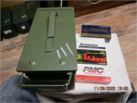 AMMO BOX OF 45 AMMO