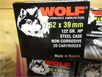 440 ROUNDS OF WOLF 7.62