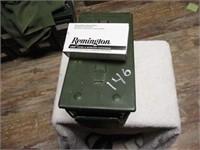 AMMO BOX WITH 45 AUTO
