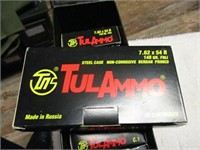AMMO BOX OF 7.62X54R