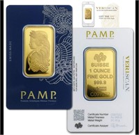 CRCA GOLD & CURRENCY AUCTION 1oz GOLD $75 Below Spot Start!