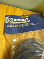 Lot of 2 polyurethane recoil air hoses