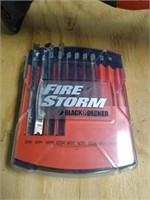 Black and decker fire storm 14.v and extra blades