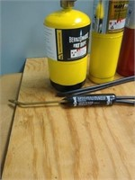 Lot of 4 gas torches