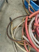 Lot of as is used hoses