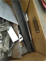 Lot of miscellaneous metal pieces