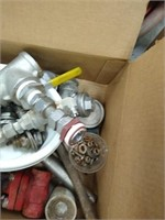 Lot of 2 boxes of misc of industrial items