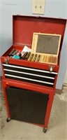 Tool Box Stand And Contents