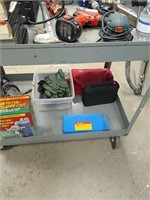 Metal industrial cart ( ONLY CART NO CONTENTS)