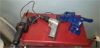 Black & Decker screwdriver, Air tools drill