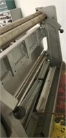 Industrial sheet metal brake Central Machinery