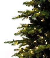 9' Natural Pine, Pre-lit Christmas Tree