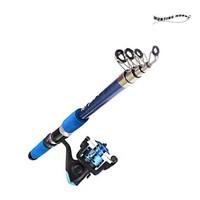 6' Fishing Spinning Rod, Reel, Travelling Bag