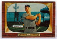 1955 Bowman Mickey Mantle #202