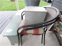 Patio Chairs, Milk Box & More