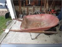 Wheelbarrow & Ladder
