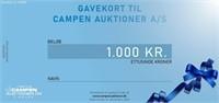 5642 NET: LYNAUKTION O/GAVEKORT SALÆR- OG MOMSFRI (RANDERS)