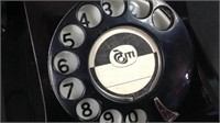 Unusual antique rotary phone