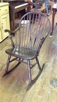 Antique Windsor rocking chair