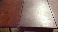 walnut dropleaf table Sheraton circa 1840-50