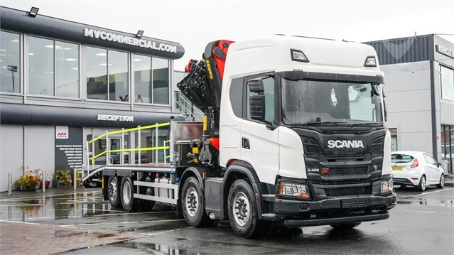 1900 SCANIA G450 at TruckLocator.ie