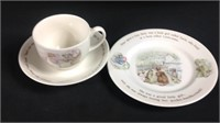 Vintage Wedgewood Mrs. Tiggy- winkle Tea
