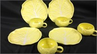 Vintage secia Portugal plates and cups