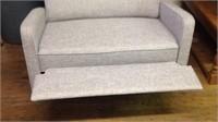 46 inch reclining loveseat clean