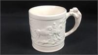 Wedgewood hound handle mug