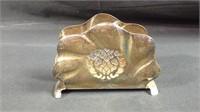 1940s occupied Germany silverplate napkin holder