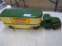 Pressed steel Buddy L Curtiss Candy semi-truck - 2