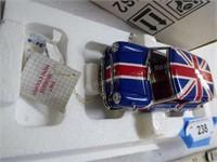 Die-cast Franklin Mint 1967 Morris Mini-Cooper - M